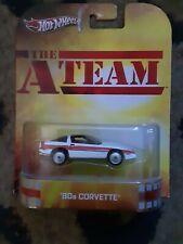 hot wheels retro entertainment a team 80s Corvette