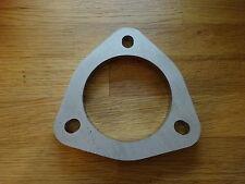 Universal Edelstahl 3-Loch Flansch 60mm Auspuff Kat Reparatur Rohrverbinder VW