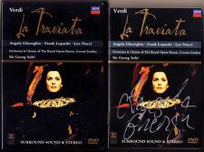 DVD Angela GHEORGHIU Signiert VERDI: LA TRAVIATA SOLTI Frank LOPARDO Leo NUCCI