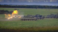 BRITISH ARMY CHALLENGER 2 MAIN BATTLE TANK   A3  Photo Print