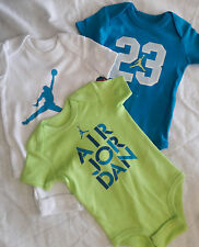NWT New NIKE Air Jordan Baby Boy Romper Bodysuit  Set Clothes SZ 9-12M