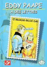 Album + timbres Tommy Banco Eddy Paape a des lettres Centre Belge de la Bande De