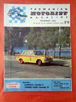 TMM Tasmanian Motorist Magazine Barry Lake November 1964 Toyota Crown De Luxe