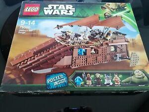 Lego Star Wars 75020 Jabba's Sail Barge - Sammlerstück - Neu - OVP - Top!