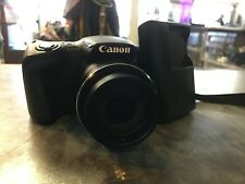 Canon PowerShot SX400 IS 16.0MP Digital Camera - Black (Kit w/ 4.3-129 mm Lens)