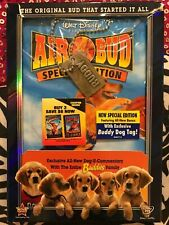 Air Bud (DVD, 2009) With Dog Tag New