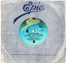 THE JACKSONS - BLAME IT ON THE BOOGIE Very rare 1978 Aussie Single Release!
