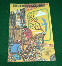 1974 BOY SCOUT - CONSERVATION SKILL AWARD COMIC STYLE BOOK