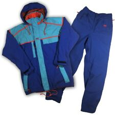 Helly Hansen Vintage 2 Piece Snow Suit Snowboarding Set Jacket And Pants RARE