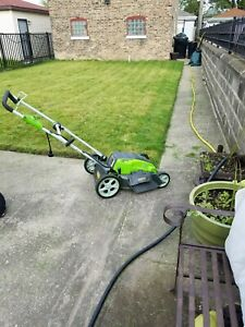 Electric Lawn Mower  GreenWorks