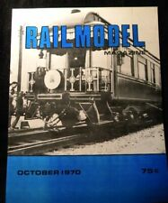 RailModel Magazine 1970 October Freelance signal tower Carpenter car Newfoundlan