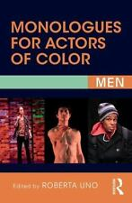 MONOLOGUES FOR ACTORS OF COLOR - UNO, ROBERTA (EDT) - NEW PAPERBACK BOOK