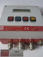 ROLAND electronic Doppelblech Detektor Steuerung R1000  E10 B-O  E10/B-O
