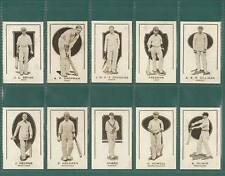 CRICKET - 100 SETS OF 17- GOODE  (AUSTRALIA) ' PROMINENT CRICKETERS ' - REPRINTS