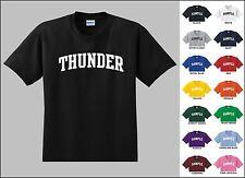 Thunder Basketball Youth T-shirt