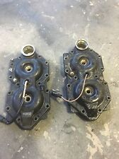 JOHNSON/EVINRUDE OUTBOARD PART V/4  90-115HP CYLINDER HEADS 60 DEGREE Pair