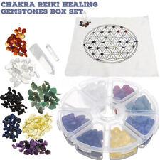Chakra Gemstone Healing Reiki Fengshui Decoration Crystal Grid Cloth Array