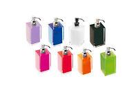 Dosasapone Dispenser Sapone Liquido Gedy Rainbow Colori Assortiti Bagno RA81 NEW