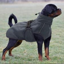 Dog Jacket Waterproof Windproof Vest Warm Coats With Leash Hole Reflective M-3XL