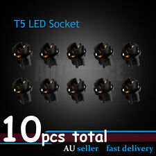 10pcs T5 LED Light Socket Dash Instrument Cluster Mount Bulb Holder Base 73 74