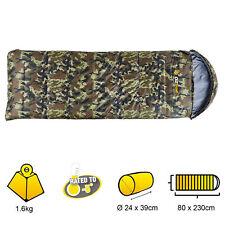 Oztrail Tactix Hooded -5 Sleeping Bag 230x80cm  ARMY LAWSON CAMO SBA-TACH-B