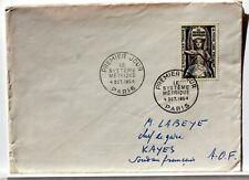 Yt 998 LE SYSTEME METRIQUE   OBLI 1° JOUR 1954 FDC FRANCE ENVELOPPE