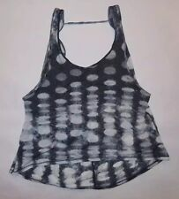 LULULEMON WANDERING YOGI TANK TOP SEASIDE DOT YOGA GYM DANCE PILATES CASUAL sz 8