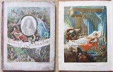 CONTES DE PERRAULT - Ed. Garnier Frères, fine '800* - Cromolitografie di GUILLON