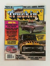 Truckin Magazine August 1982 - Chevy S-10 - Project Mini Van - How To Section