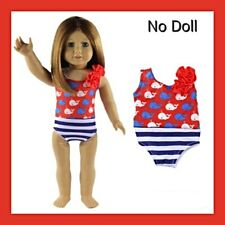 "Swimsuit for 18"" American Girl doll clothing Brand New easter present"