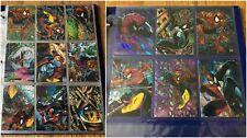 1992 SPIDER-MAN THE MCFARLANE ERA BASE 1-90 + PRISM INSERT Card Set 1-6 COMPLETE