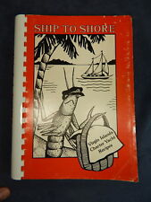VIRGIN ISLANDS Charter Yacht Recipes Cookbook, Ship to Shore Jan Robinson SIGNED