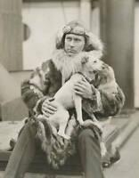 OLD LARGE PHOTO AVIATION HISTORY Pioneer Aviator explorer Floyd Bennett c1930 4