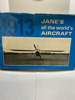 Vintage 1913 Janes All The Worlds Aircraft Hardback Book 1969