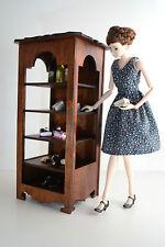 Shelf Cupboard Cabinet Showcase Furniture for Dolls 12 inch 1:6 Fr Barbie Momoko