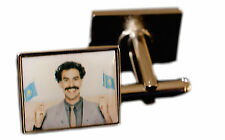 Borat Sagdiyev Cufflinks Silver Mens Jewellery Accessory