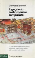 Ingegneria costituzionale comparata di GIOVANNI SARTORI 1998 EDIZ. IL MULINO