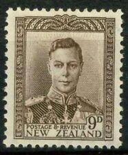 Nouvelle-Zélande 1938 SG 685 Neuf * 100% Le roi George VI