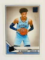 2019-20 Clearly Donruss Ja Morant RC, BLUE SP #38/99, Grizzlies Rated Rookie!