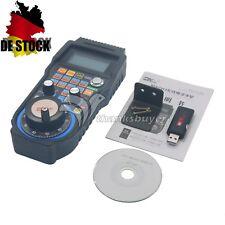 MACH3 CNC Wireless Electronic Handwheel 4-Axis Manual Controller Handle MPG EU