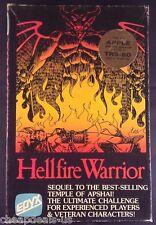 Hellfire Warrior EPYX Apple II Disk - Complete