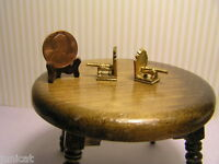 Miniature Dollhouse Bookends / Cannons