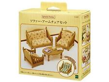 Sylvanian Families furniture sofa arm chair set