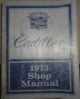 1973 Cadillac Service Shop Manual