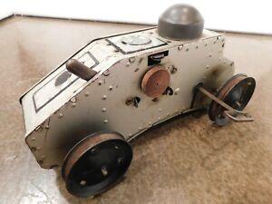 Vintage 1920's Marx Tank Corps #12 WIND-UP Tin Litho U.S. ARMY TANK WORKS Missin