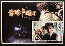 Harry Potter Stamps Souvenir Sheet 03 Faux Issue Fantasy Wizard Magic Witchcraft