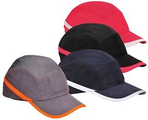 Portwest Vent Cool Protective Bump Cap Hard Hat Safety Work Wear Baseball PW69