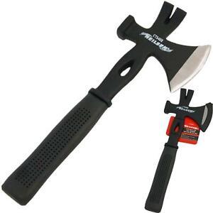 Neilsen Multi Tool Hatchet Wood Axe Hammer Pry Bar Nail Puller Builder Roof Log