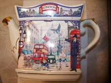 Sadler Piccadilly Teapot London Heritage Collection #4660 Made In England