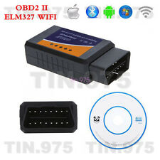 ELM327 WiFi OBD2 OBDII Car Diagnostic Scanner Tool For PC iPhone IOS and Android